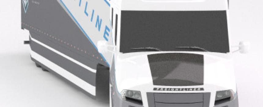 The Freightliner Supertruck – Featuring MiaSolé flexible, lightweight modules
