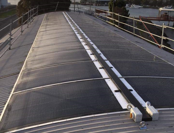 Leeson Solar wins 2015 Clean Energy Council Solar Design and Installation Award for MiaSolé FLEX installation
