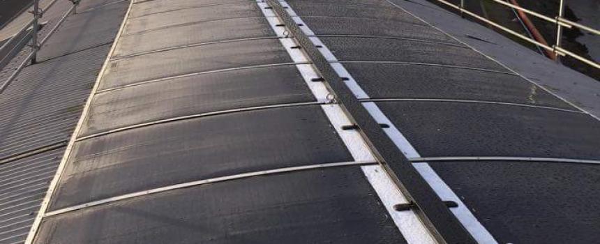 Leeson Solar wins 2015 Clean Energy Council Solar Design and Installation Award for MiaSolé FLEX installation