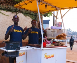 Musana Carts provides clean, solar-powered street vending carts