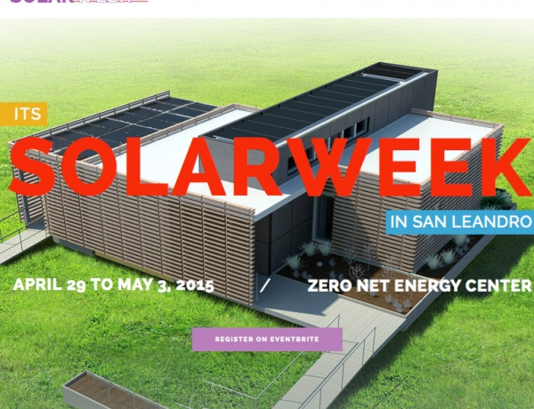 MiaSolé featured at Solar Week in San Leandro, CA